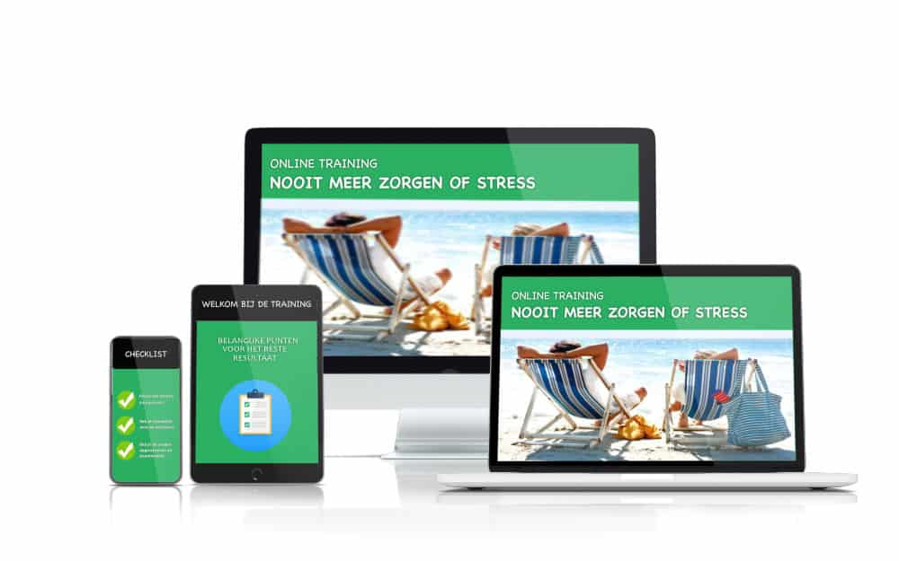 online training minder stress